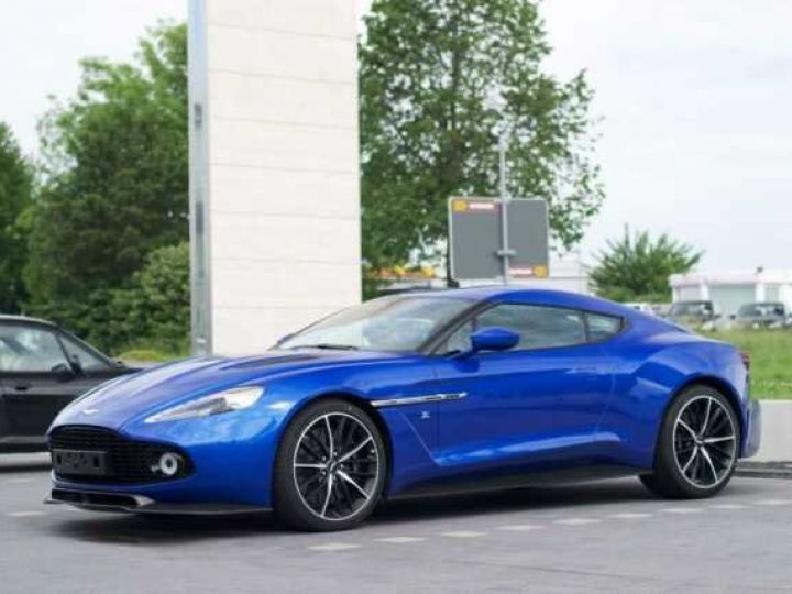Aston Martin Zagato LIMITED EDITION # One Of 99 # Cobalt Blue Métal - 1