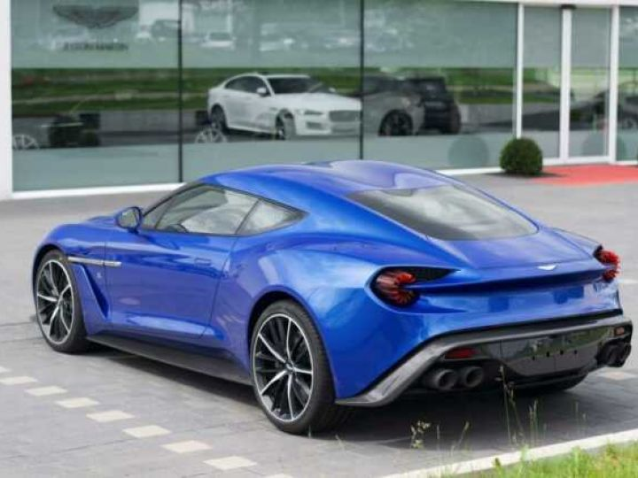 Aston Martin Zagato LIMITED EDITION # One Of 99 # Cobalt Blue Métal - 2