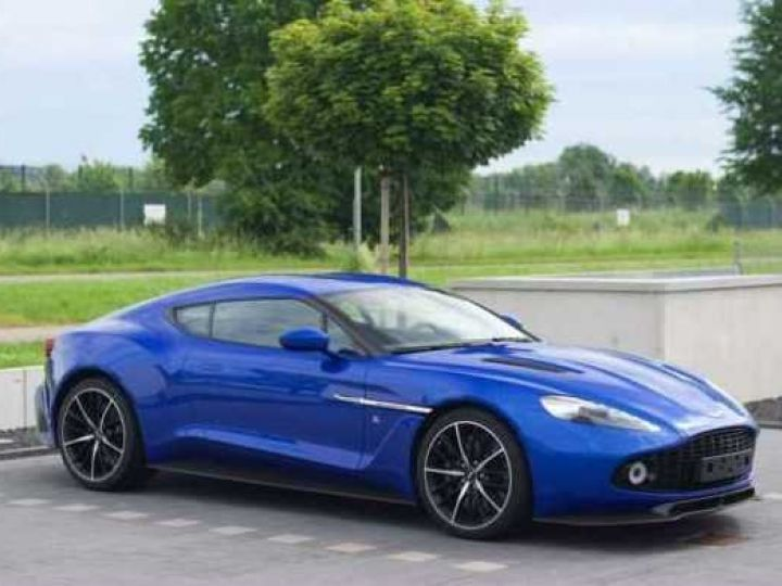 Aston Martin Zagato LIMITED EDITION # One Of 99 # Cobalt Blue Métal - 3