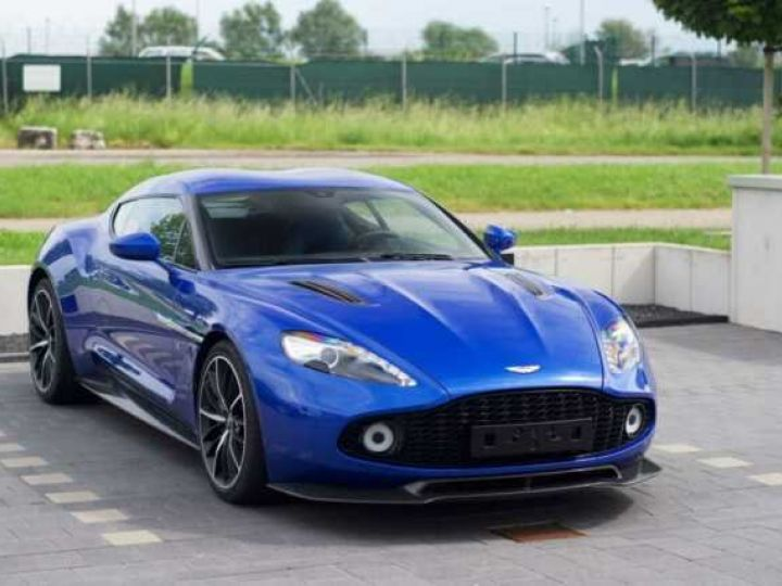 Aston Martin Zagato LIMITED EDITION # One Of 99 # Cobalt Blue Métal - 5