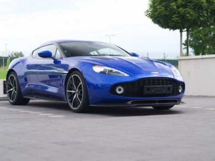 Aston Martin Zagato LIMITED EDITION # One Of 99 # Cobalt Blue Métal - 7
