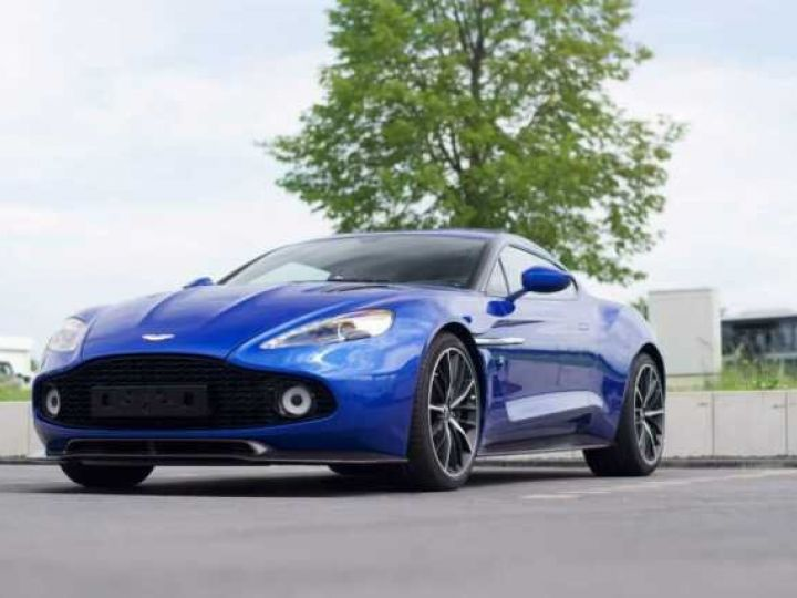 Aston Martin Zagato LIMITED EDITION # One Of 99 # Cobalt Blue Métal - 8