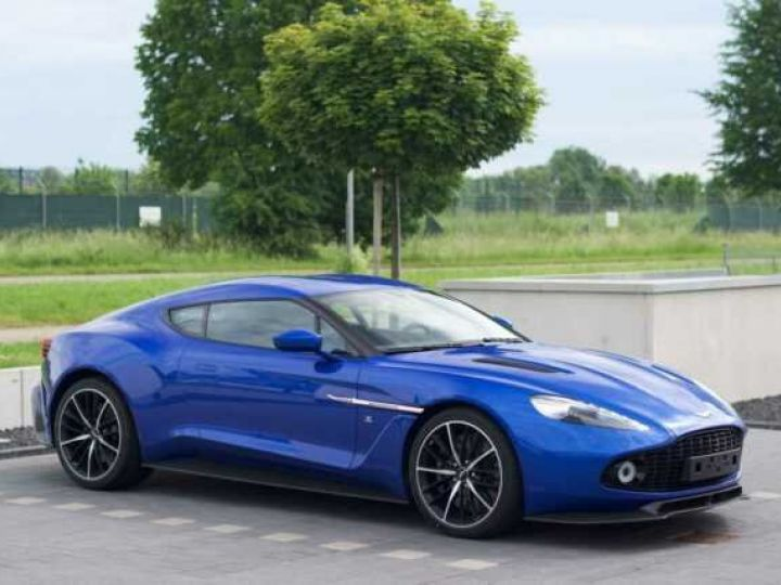 Aston Martin Zagato LIMITED EDITION # One Of 99 # Cobalt Blue Métal - 9