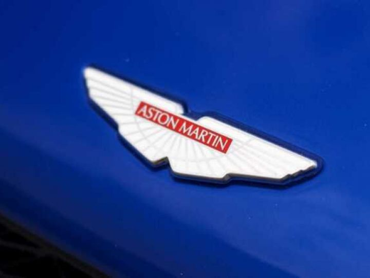 Aston Martin Zagato LIMITED EDITION # One Of 99 # Cobalt Blue Métal - 17