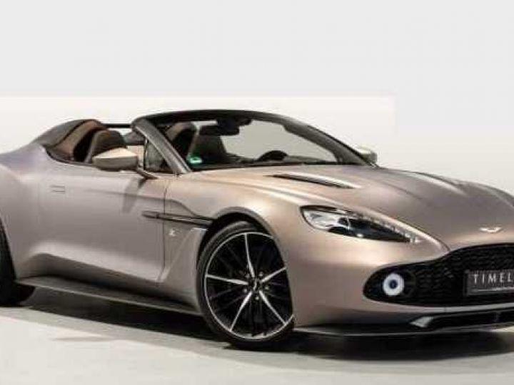 Aston Martin Zagato VANQUISH ZAGATO Speedster - 1 of 28 # UNE VALEUR REFUGE Satin Solar Bronze - 1