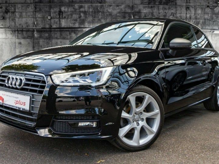 Audi A1 1.4TFSI 125 S-tronic sport Ambition.03/2017 noir métal - 1