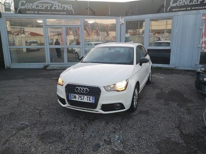 Audi A1 AMBITION  BLANC METAL Occasion - 1