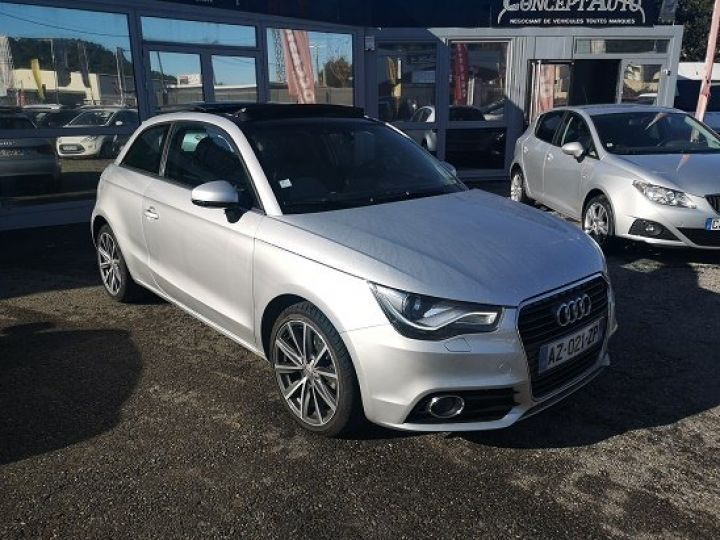 Audi A1 AMBITION LUXE GRIS METAL Occasion - 1