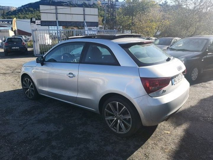 Audi A1 AMBITION LUXE GRIS METAL Occasion - 4