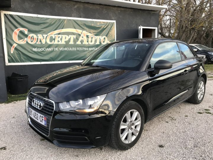 Audi A1 ATTRACTION NOIR METAL Occasion - 1