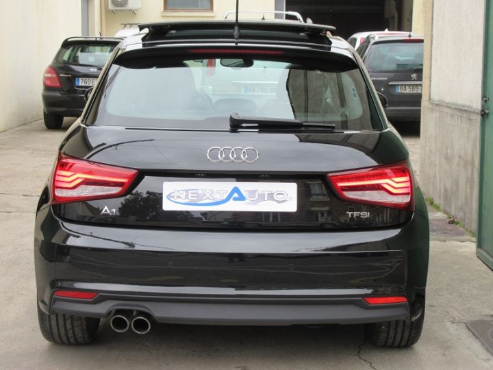 Audi A1 Sportback 1.4 TFSI 125CH AMBITION LUXE S TRONIC 7 NOIR Occasion - 7