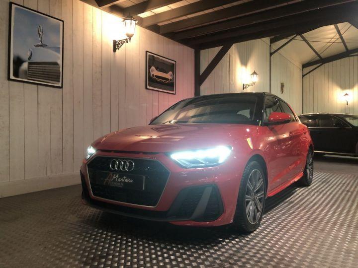 Audi A1 Sportback 30 TFSI 116 CV SLINE Rouge - 2