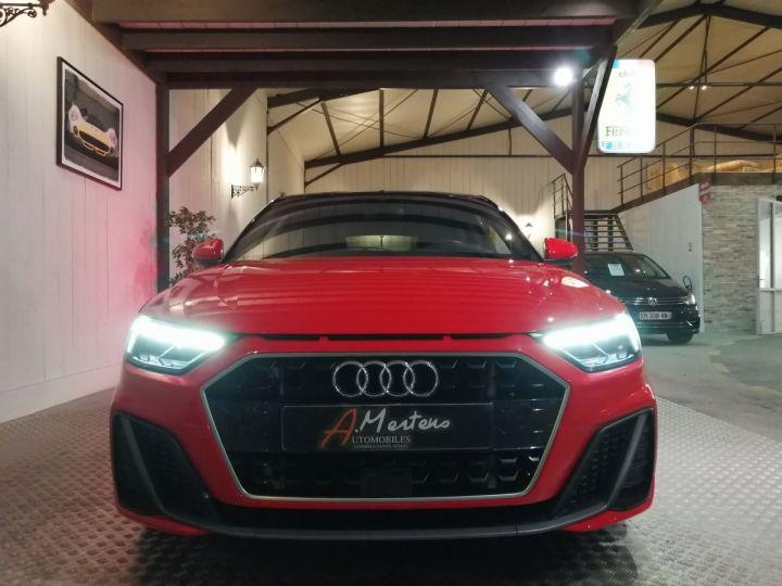 Audi A1 Sportback 30 TFSI 116 CV SLINE Rouge - 3