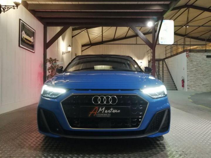 Audi A1 Sportback 30 TFSI 116 CV SLINE BVA Bleu - 3