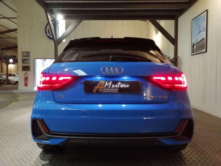 Audi A1 Sportback 30 TFSI 116 CV SLINE BVA Bleu - 4