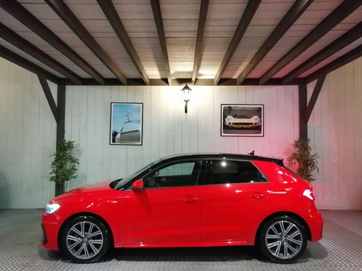 Audi A1 Sportback 30 TFSI 116 CV SLINE BVA Rouge - 1