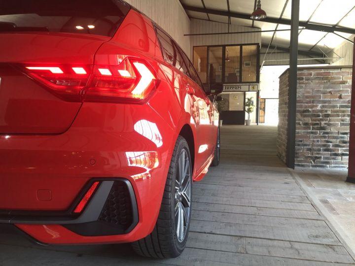 Audi A1 Sportback 30 TFSI 116 CV SLINE BVA Rouge - 14