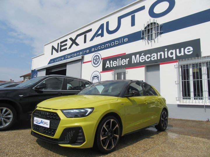 Audi A1 Sportback 30 TFSI 116CH EDITION ONE S TRONIC 7 Jaune Occasion - 1