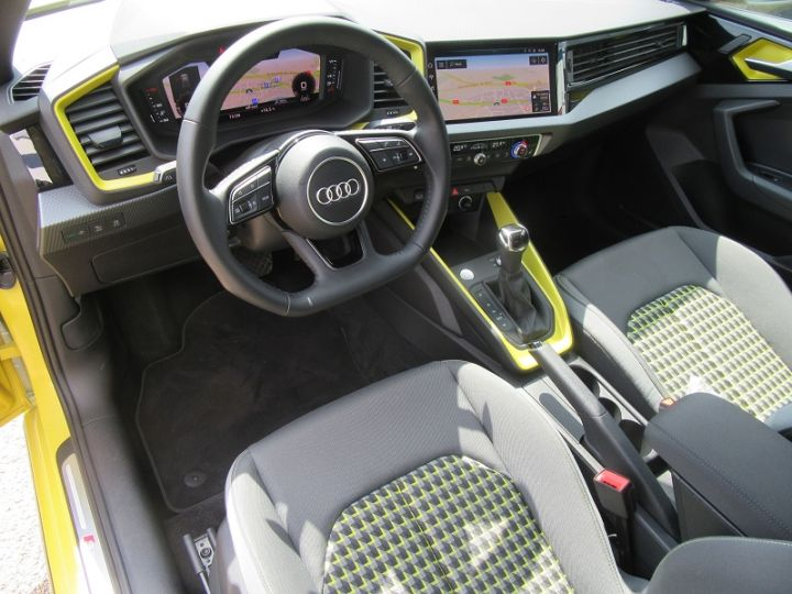 Audi A1 Sportback 30 TFSI 116CH EDITION ONE S TRONIC 7 Jaune Occasion - 2