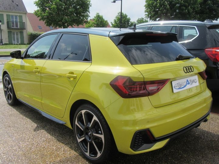 Audi A1 Sportback 30 TFSI 116CH EDITION ONE S TRONIC 7 Jaune Occasion - 3