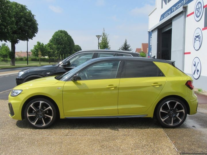 Audi A1 Sportback 30 TFSI 116CH EDITION ONE S TRONIC 7 Jaune Occasion - 5