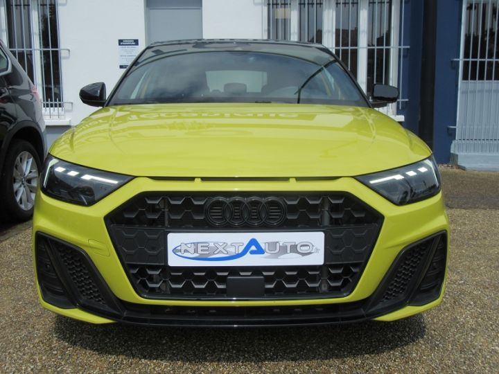 Audi A1 Sportback 30 TFSI 116CH EDITION ONE S TRONIC 7 Jaune Occasion - 6