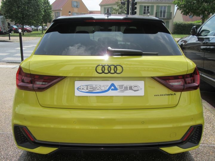 Audi A1 Sportback 30 TFSI 116CH EDITION ONE S TRONIC 7 Jaune Occasion - 7