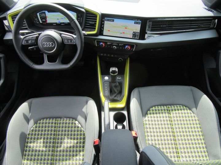 Audi A1 Sportback 30 TFSI 116CH EDITION ONE S TRONIC 7 Jaune Occasion - 8