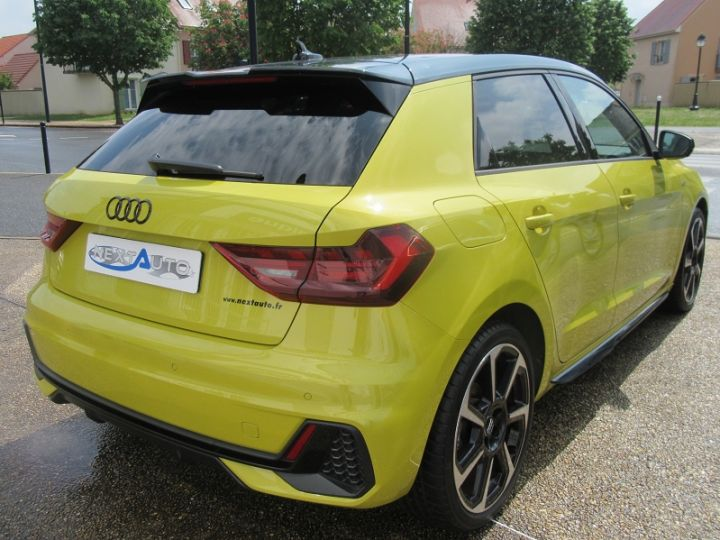 Audi A1 Sportback 30 TFSI 116CH EDITION ONE S TRONIC 7 Jaune Occasion - 12