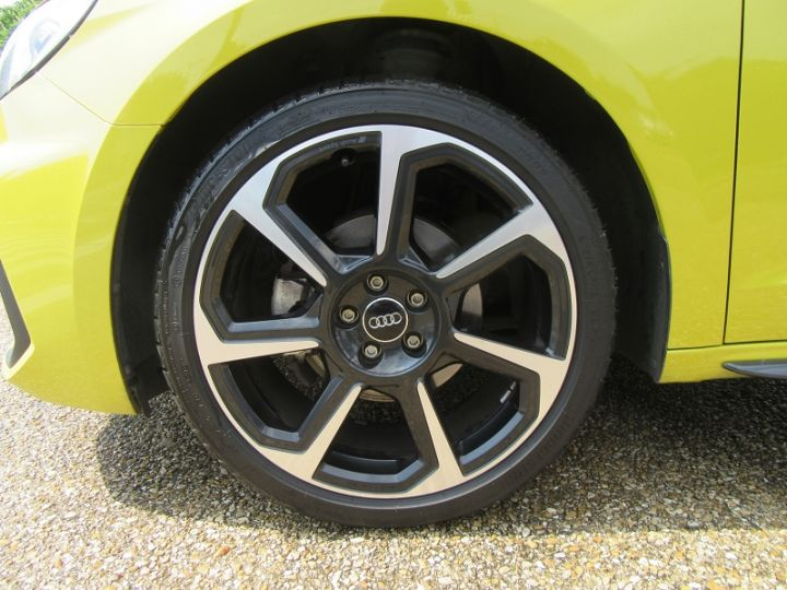 Audi A1 Sportback 30 TFSI 116CH EDITION ONE S TRONIC 7 Jaune Occasion - 15