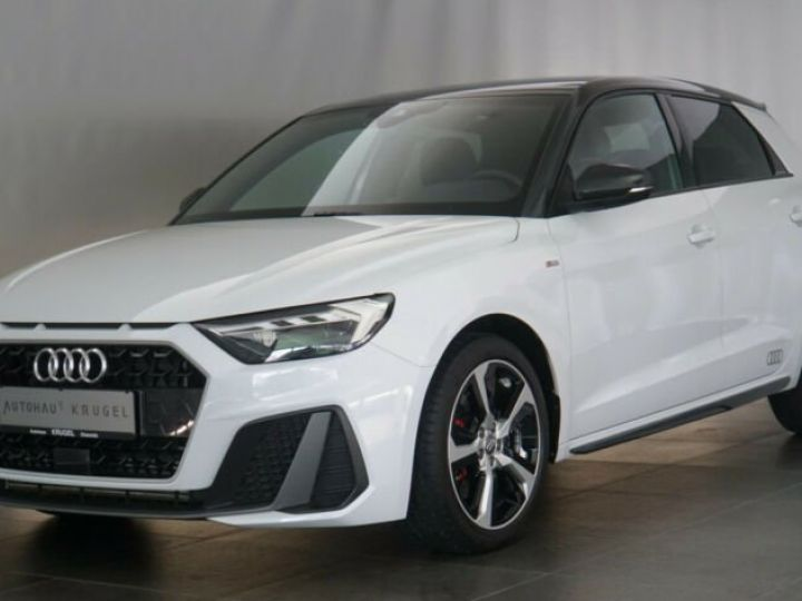 Audi A1 Sportback # 40 TFSI S Line Sport Performance Blanc Peinture métallisée - 1