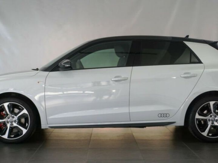 Audi A1 Sportback # 40 TFSI S Line Sport Performance Blanc Peinture métallisée - 2