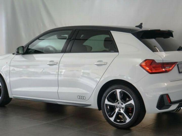 Audi A1 Sportback # 40 TFSI S Line Sport Performance Blanc Peinture métallisée - 3