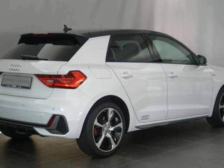 Audi A1 Sportback # 40 TFSI S Line Sport Performance Blanc Peinture métallisée - 5