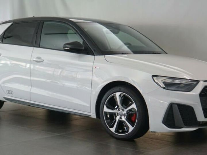 Audi A1 Sportback # 40 TFSI S Line Sport Performance Blanc Peinture métallisée - 7