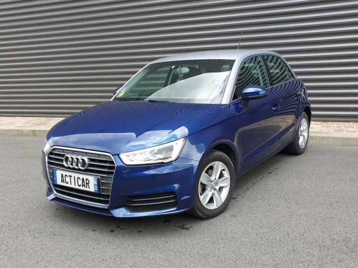 Audi A1 Sportback business tdi 90 s tronic o Bleu Occasion - 1