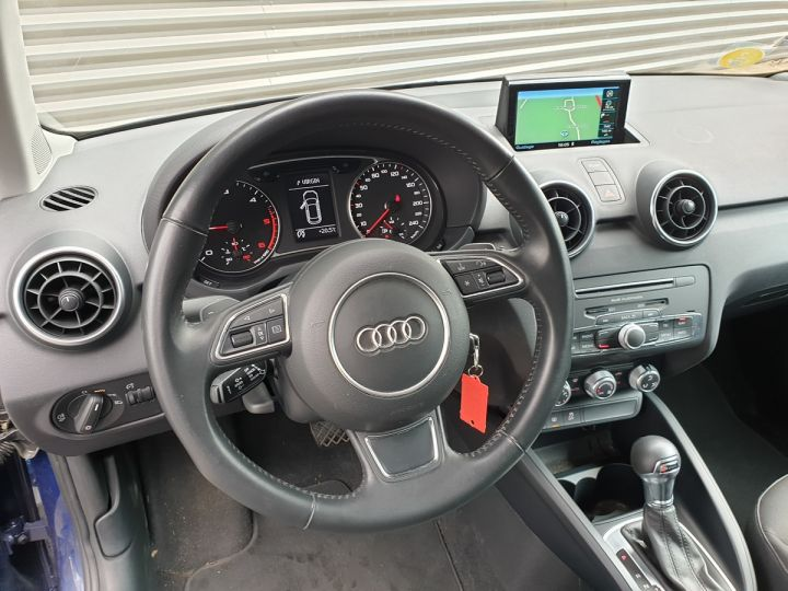 Audi A1 Sportback business tdi 90 s tronic o Bleu Occasion - 14