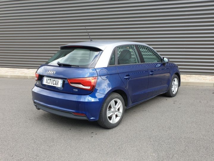 Audi A1 Sportback business tdi 90 s tronic o Bleu Occasion - 19