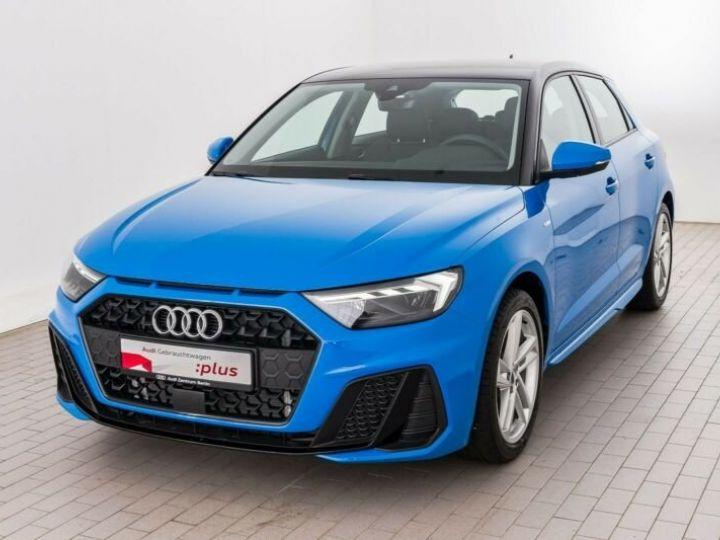 Audi A1 Sportback # Sportback Sport S line #  Bleu - 1