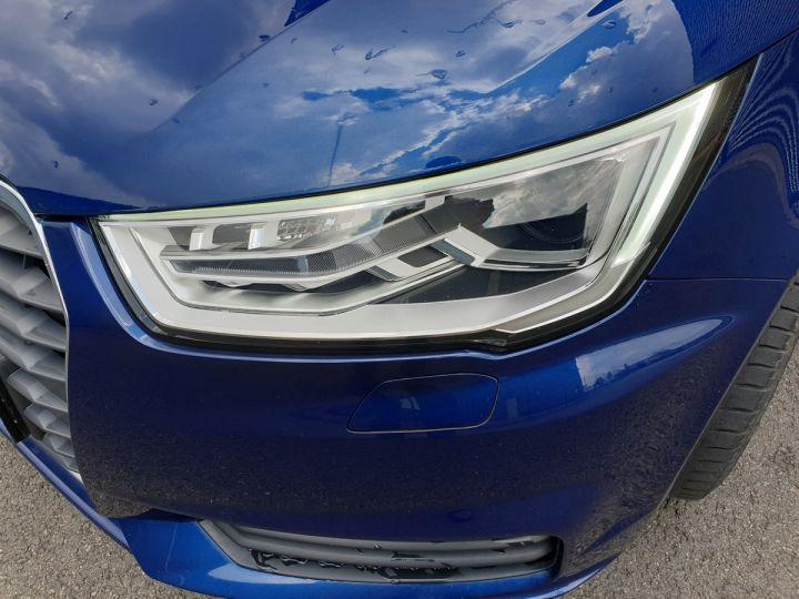 Audi A1 Sportback ultra business tdi 90 s tronic i Bleu Occasion - 17