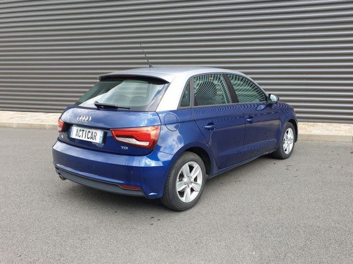 Audi A1 Sportback ultra business tdi 90 s tronic i Bleu Occasion - 19