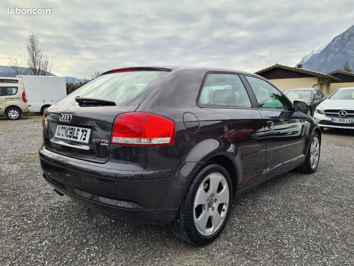 Audi A3 2.0 tdi 140 quattro ambition luxe 01/2008 CUIR REGULATEUR  - 2