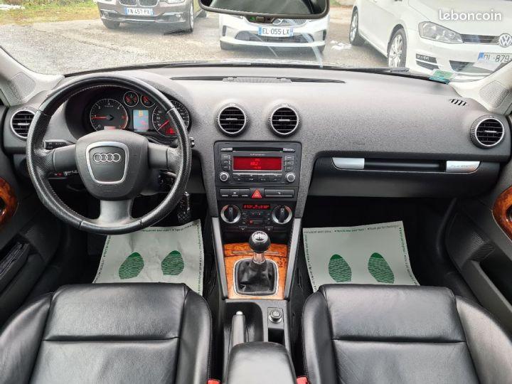 Audi A3 2.0 tdi 140 quattro ambition luxe 01/2008 CUIR REGULATEUR  - 5