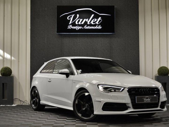 Audi A3 8v 1.8 tfsi 180ch quattro stronic sline plus 1ere main acc camera attelage rotor +++ BLANC GLACIER - 1