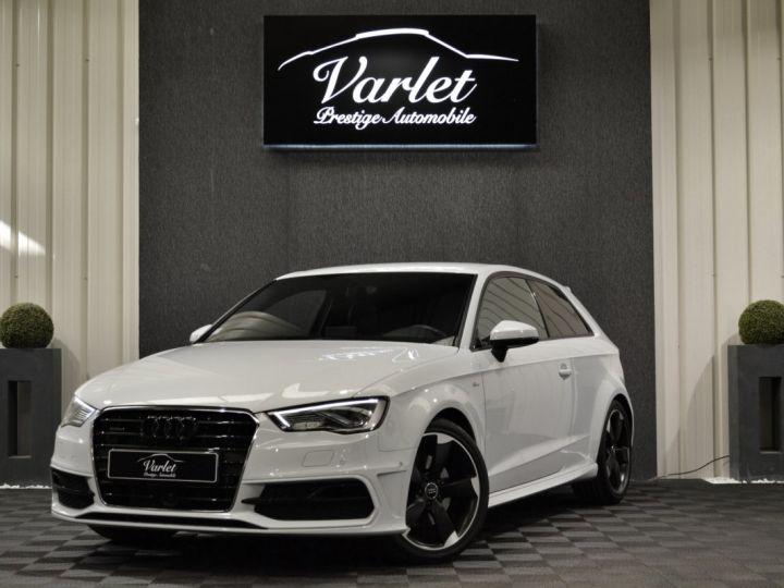 Audi A3 8v 1.8 tfsi 180ch quattro stronic sline plus 1ere main acc camera attelage rotor +++ BLANC GLACIER - 3