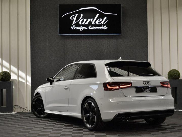 Audi A3 8v 1.8 tfsi 180ch quattro stronic sline plus 1ere main acc camera attelage rotor +++ BLANC GLACIER - 6