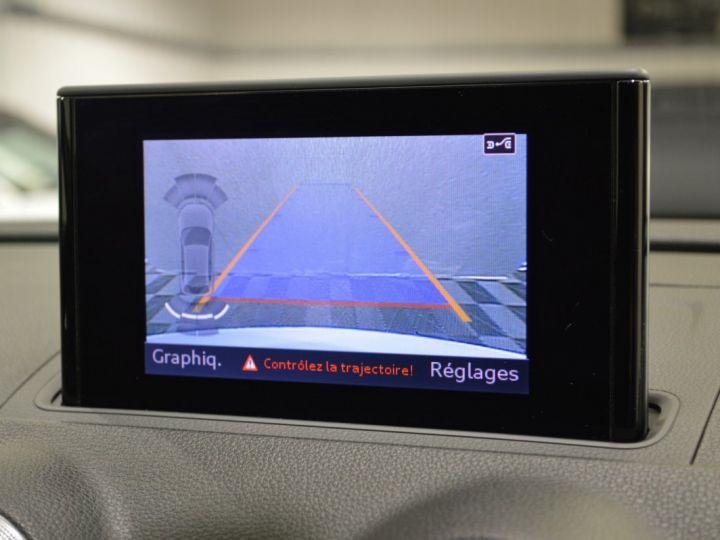 Audi A3 8v 1.8 tfsi 180ch quattro stronic sline plus 1ere main acc camera attelage rotor +++ BLANC GLACIER - 8