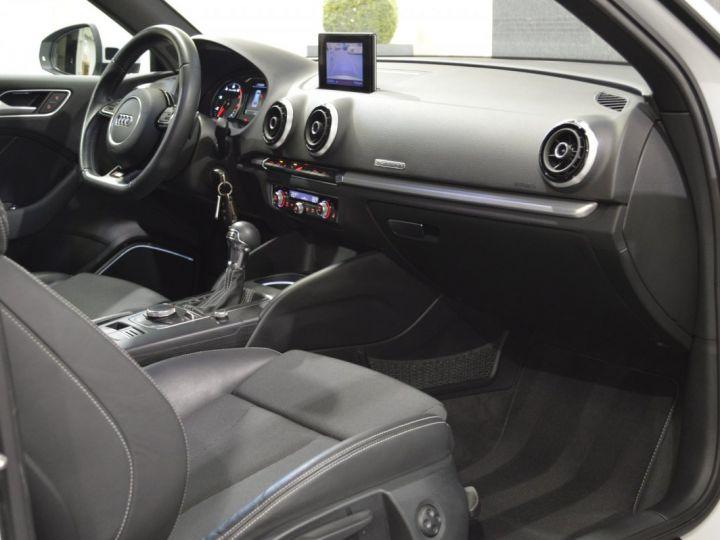 Audi A3 8v 1.8 tfsi 180ch quattro stronic sline plus 1ere main acc camera attelage rotor +++ BLANC GLACIER - 11