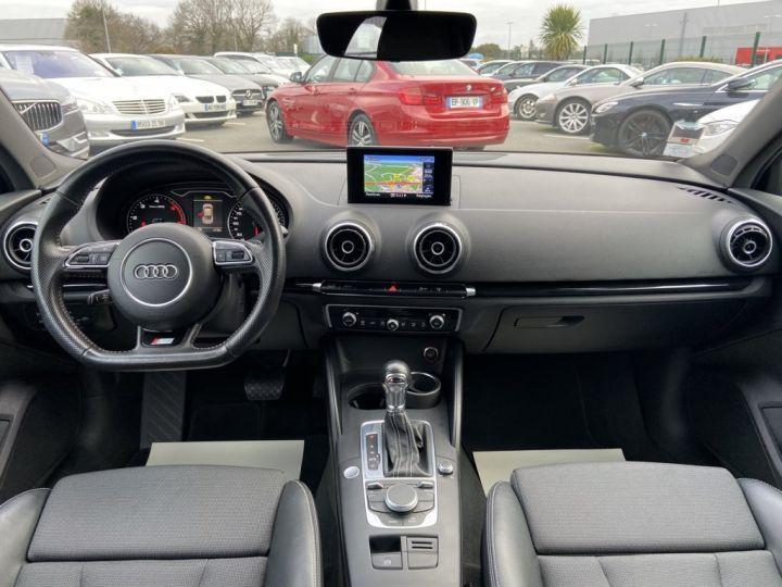 Audi A3 Berline 2.0 TDI 150ch S-LINE S-TRONIC NOIR - 10