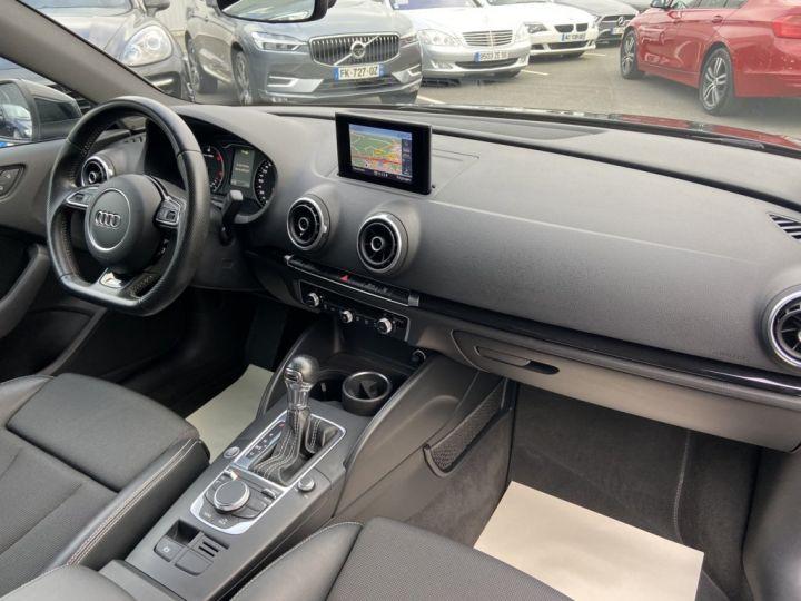 Audi A3 Berline 2.0 TDI 150ch S-LINE S-TRONIC NOIR - 11